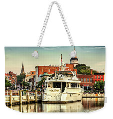 Good Morning Annapolis Weekender Tote Bag