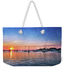 Weekender Tote Bag featuring the photograph Good Morning by Edward Kreis