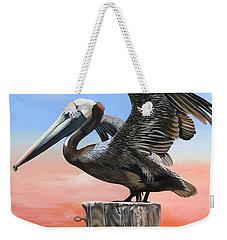 Good Morning Florida Weekender Tote Bag