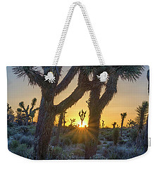 Good Morning From Joshua Tree Weekender Tote Bag