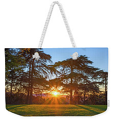 Good Morning, Good Morning Weekender Tote Bag