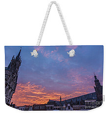 Good Morning Gouda-3 Weekender Tote Bag