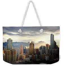 Good Morning, Hong Kong Weekender Tote Bag