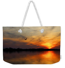 Good Morning Weekender Tote Bag by Judy Vincent