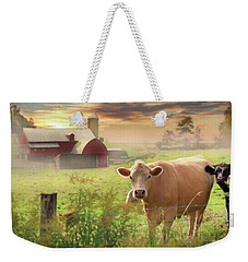 Weekender Tote Bag featuring the photograph Good Morning by Lori Deiter