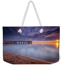Weekender Tote Bag featuring the photograph good morning Mr. Sun   by Edward Kreis