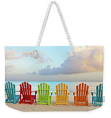 Good Morning Paradise 0746 Signed Weekender Tote Bag