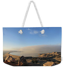 Good Morning Pueblo Weekender Tote Bag
