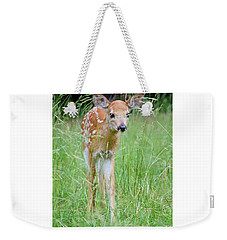 Good Morning World Weekender Tote Bag