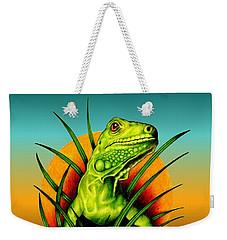 Good Morning World Weekender Tote Bag