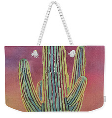 Good Night Cactus Wren Weekender Tote Bag