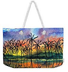 Good Night Hawaii Weekender Tote Bag