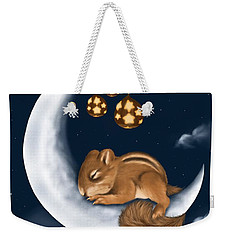 Weekender Tote Bag featuring the painting Good Night by Veronica Minozzi
