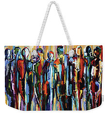 Good People, The Wanderers, Pure Justus Collection Weekender Tote Bag