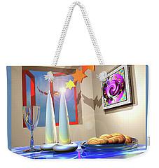 Good Shabbos Weekender Tote Bag