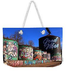 Good Vibes Asheville North Carolina Weekender Tote Bag