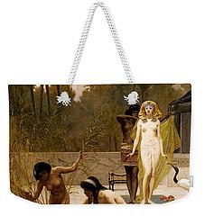 Goodall Frederik The Finding Of Moses Weekender Tote Bag