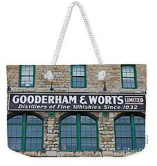 Gooderham And Worts Distillery Weekender Tote Bag
