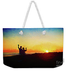 Goodnight Mr. Sun  Weekender Tote Bag
