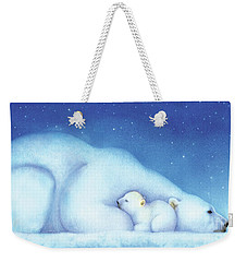 Arctic Bears, Goodnight Nanook Weekender Tote Bag