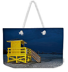 Goodnight Siesta Key Weekender Tote Bag
