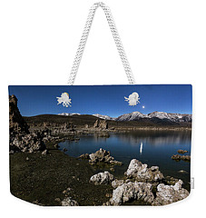 Weekender Tote Bag featuring the photograph Goodnight Venus by Tassanee Angiolillo