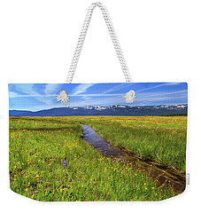 Weekender Tote Bag featuring the photograph Goodrich Creek by James Eddy