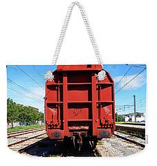 Goods Wagon Weekender Tote Bag by Don Pedro De Gracia