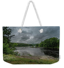 Weekender Tote Bag featuring the photograph Googin's Island Revisited by Guy Whiteley