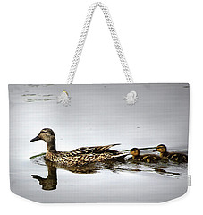 Goose And Goslings Weekender Tote Bag