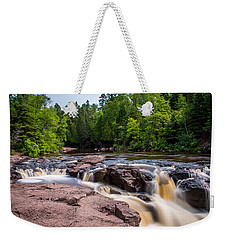 Goose Berry River Rapids Weekender Tote Bag