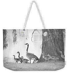 Goose Family  Weekender Tote Bag