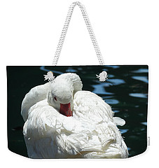 Goose Feather Siesta Weekender Tote Bag