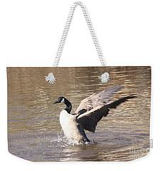 Goose Flapping Wings Weekender Tote Bag