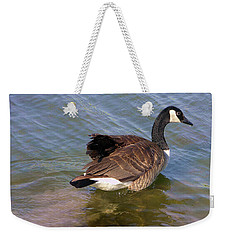 Goose Weekender Tote Bag by John Lautermilch