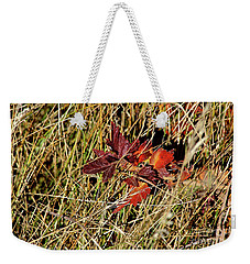 Gooseberry In Fall Weekender Tote Bag