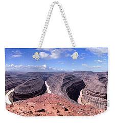 Gooseneck Bends Panorama Weekender Tote Bag