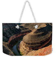 Goosenecks State Park Overlook Weekender Tote Bag