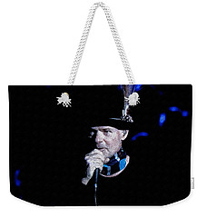 Gord Downie In Concert Weekender Tote Bag by Maciek Froncisz