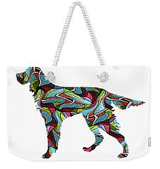 Gordon Setter Spirit Glass Weekender Tote Bag