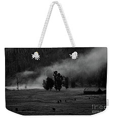 Gordon's Barn At Dawn Weekender Tote Bag