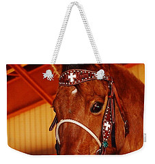 Gorgeous Horse And Bridle Weekender Tote Bag