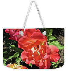 Weekender Tote Bag featuring the photograph Gorgeous Roses by Stephanie Moore