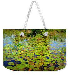 Gorham Pond Lily Pads Weekender Tote Bag