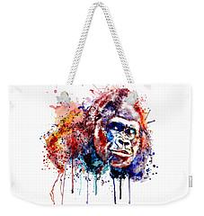 Gorilla Weekender Tote Bag by Marian Voicu