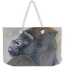 Gorilla's Celebrity Pose Weekender Tote Bag