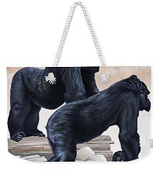 Gorillas Weekender Tote Bag