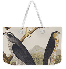 Goshawk And Stanley Hawk Weekender Tote Bag