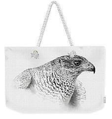 Goshawk Weekender Tote Bag by Kathie Miller