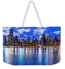 Weekender Tote Bag featuring the photograph Gothem by Az Jackson